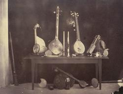 Musical instruments belonging to H E  [the Raja of Pudukkottai ]